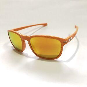Oakley Sunglasses * Enduro 9223-22 Fingerprint Atomic Orange Fire Iridium