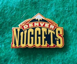 Denver Nuggets Logo Pin Accept No Offers Ship Usa Only Bin Free Shipping Ebay