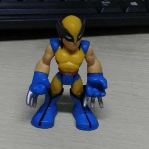 PlaySkool Marvel Super Hero Adventures Hawkeye Loki Vision Hulk 2.5/'/' figure toy