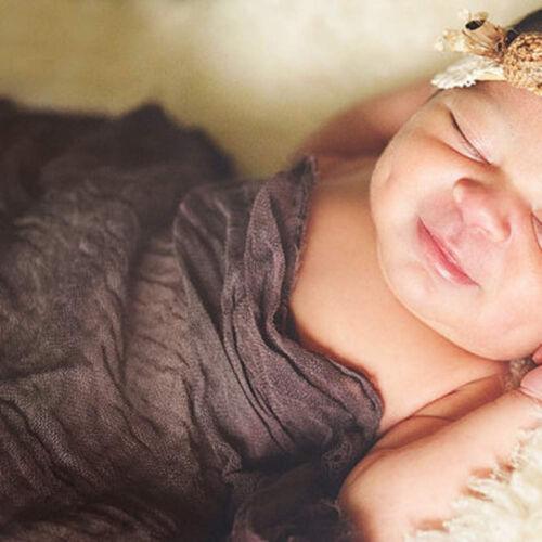 Newborn Baby Scarf Photo Blanket Photography Quilt Photographic Sleep Mat Props