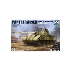 Takom 02104 Panther Ausf.D German Tank w Zimmerit 1 35 Scale Kit