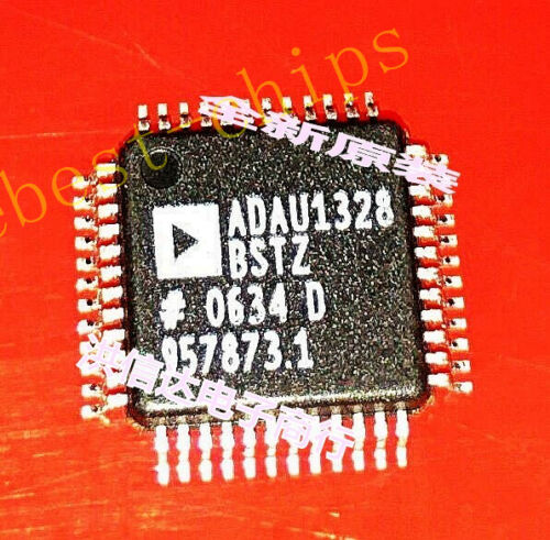 1 PCS ADAU1328BSTZ LQFP-48 Audio Codec 2ADC 8DAC 24bit