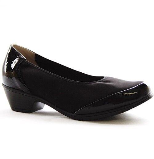 Bosque alfil Kendra pumps Zapatos señora ancho de de de cuero negro K 647006-200-001  echa un vistazo a los más baratos
