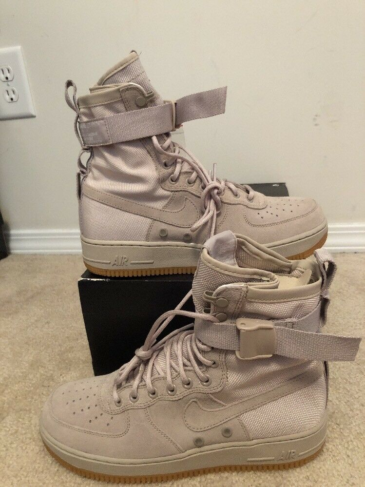 Nike sf af1 qs forze speciali campo string gomma air force 1 sz (864024-200)