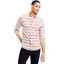 Tommy Hilfiger Mens Barbados Red Blue Cherry Shirt Size L Brand New RRP £85
