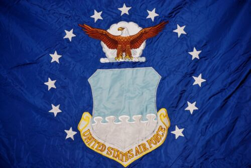 GI Issue US Air Force Organizational Flag w// Fringe