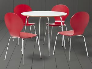 Image Is Loading New Tesco Bistro Modern 4 Seat Dining Table