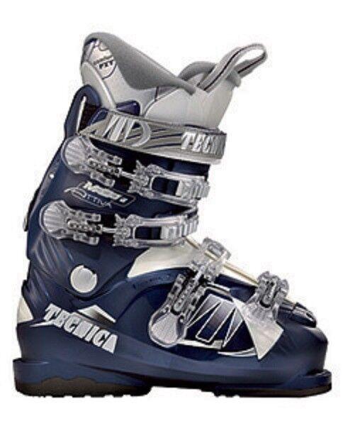 Tecnica Attiva modo 6 comfortFit Ski Boots Women's size 26 mondo ,US  9 new
