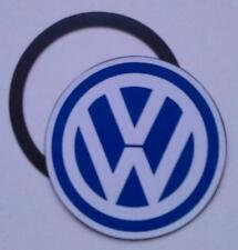 Magnetic Tax disc holder fits  volkswagen vw golf polo passat touran  blue white