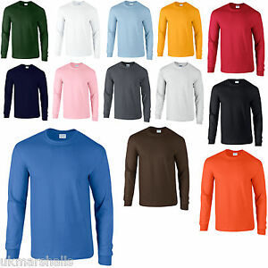 GILDAN-PREMIUM-LONG-SLEEVED-T-SHIRT-14-COLOURS-S-XXL