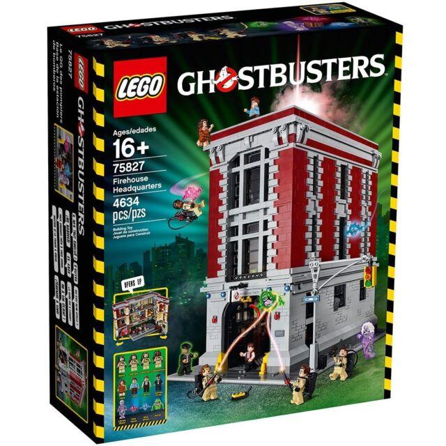 Lego Ghostbusters Firehouse Headquarters 75827 Ebay