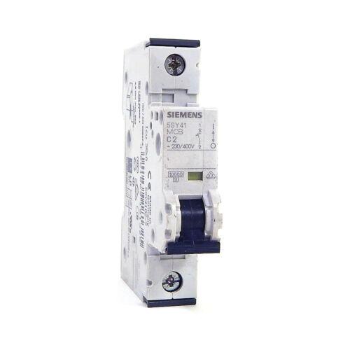 Siemens 5SY41-MCB-C2 Circuit Breaker 230//400V