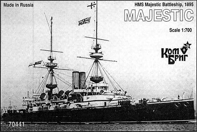 Combrig 1//700 Battleship HMS Canopus 1899 Resin Kit