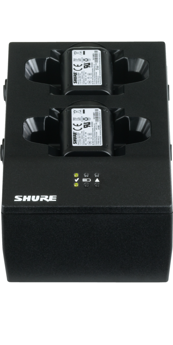 SHURE SBC200-US DUAL DOCKING RECHARGING STATION, US POWER SUPPLY