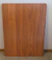 Ash Hardwood Rv Table Top Oak Booth Dinette Usa 28 X 38 Motorhome