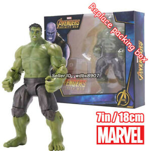 Hulk-Marvel-Avengers-Legends-Comic-Heroes-7in-18cm-Action-Figure-Kids-Toy-in-Box