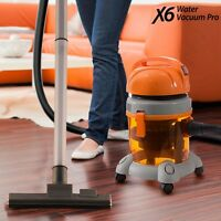 X6 Water Vacuum Pro Home Cleaning Machine, Rugs, Hard Floors, Sofas, Carpets