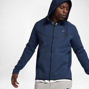 Xxlt bleu 451 capuche 2xlt à 805144 Tech polaire Windrunner Nike en obsidienne Veste 5vp01wxn0