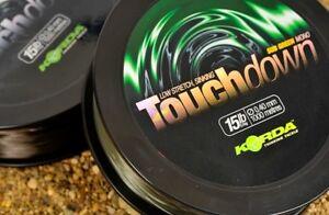 Korda-Touchdown-0-40mm-15lb-gruen-green-1000m-Schnur-Karpfen-schnell-sinkend