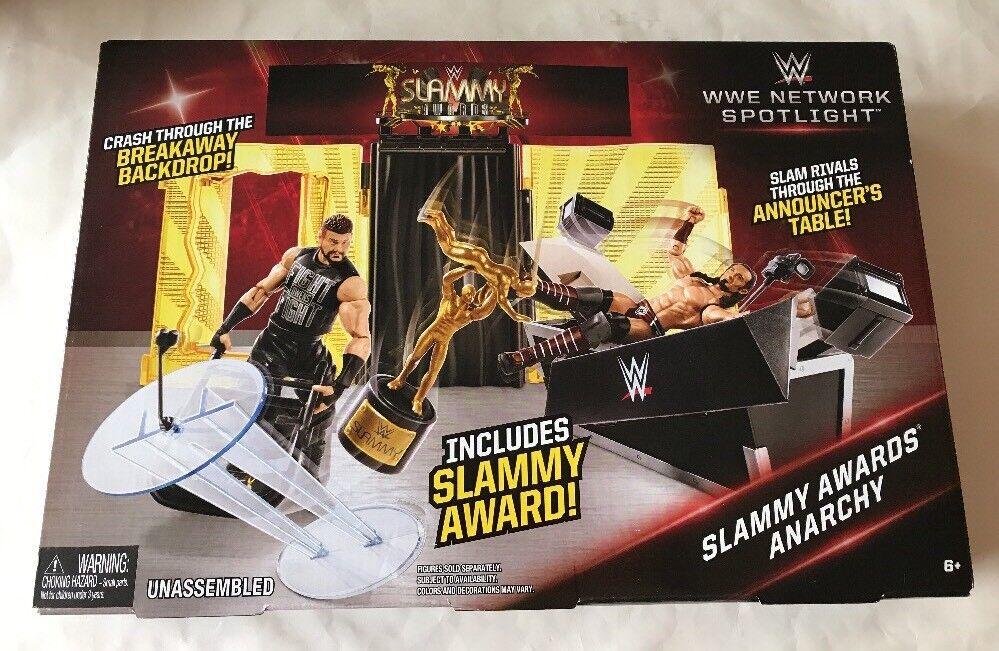 "MATTEL WWE Network Spotlight Slammy Awards Anarchy Playset  ""NEW"""