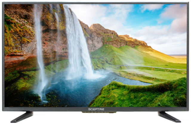 "55/"" 4K Ultra HD LED TV HDTV  Slim Flat Screen 2160p UHD Sceptre Home Cinema USB"