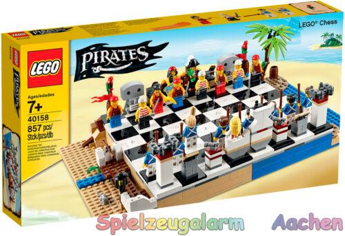 LEGO 40158 pirates exclusivement jeu d/'échecs chess set jeu d /'échecs