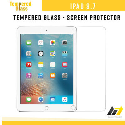 2018 Premium Tempered Glass Genuine Screen Protector For Apple iPad 9.7-inch