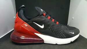 new style 4e85a be2be Details about Nike Air Max 270 Bred Black White University Red Anthracite  AH8050 022
