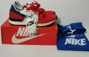 new concept 43c09 df2d5 Image is loading NEW-NIKE-AIR-BERWUDA-555305-601-Red-White-