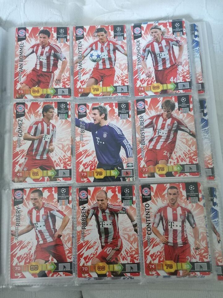 Samlekort, Fodbolkort Champions League 2010 Adrenalyn
