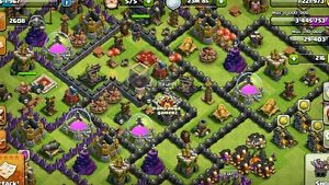 50-Clash-of-Clans-Account-MID-TH9-CHEAP-RUSH