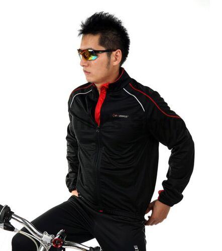 IA358 FLJ INBIKE Cycling Bike Windproof Fleeced Long Sleeves Jacket *Top Only*