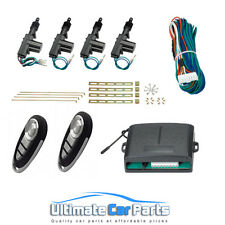Remote Central Locking kit For 2 Or 4 Doors,3 Yr Warranty Same Day Dispatch!!