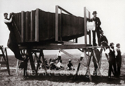 George Lawrence photo, World's Largest Camera, 1900