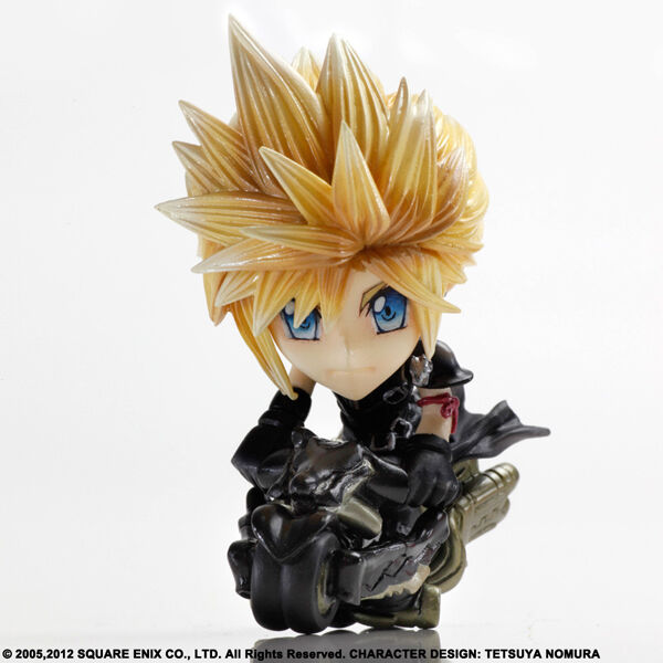 Square enix - kunst - kai - final fantasy vii - trading - kunst - cloud strife