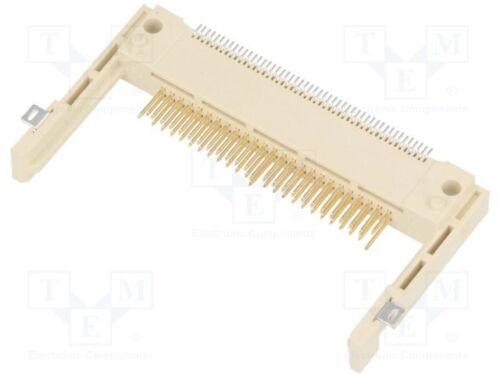 für Karten; Compact Flash; SMT; gold flash; LCP 1 st Steckverbinder