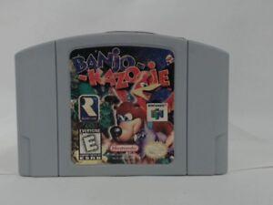BANJO-KAZOOIE-Nintendo-64-N64-Good