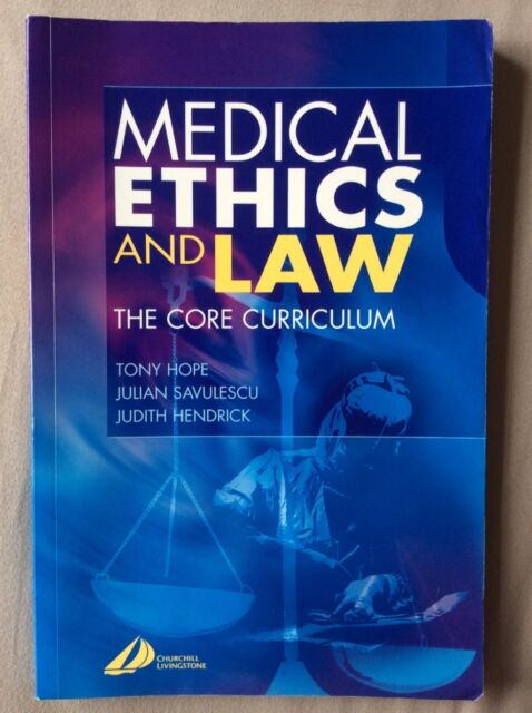 Medical Ethics and Law (Paperback, 2006)