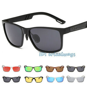 100-UV400-Men-039-s-Polarized-Driving-Outdoor-Sports-Sunglasses-Fashion-Glasses