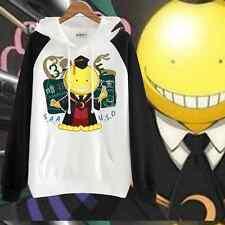 JP Anime Assassination Classroom Sweatshirt Casual Hoodie Coat Clothing #erf