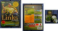 Jeu vidéo PC - Links Action, golf, Microsoft 2002, vo avec documentation version