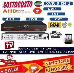 DVR-IBRIDO-CLOUD-5-IN-1-NVR-CVI-TVI-HVR-AHD-ANALOGICO-8-CH-CANALI-FULL-1080P-new