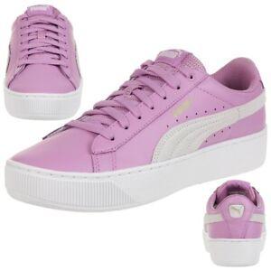 Femmes Chaussures De Plate-forme Vikky, Rose Violet, 37 Eu Puma