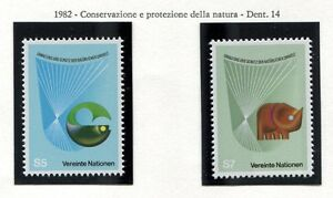 19325-UNITED-NATIONS-Vienna-1982-MNH-Nature