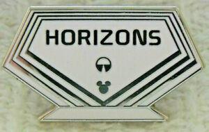 WDW Hidden Mickey 2019 Attraction Signs Horizons Disney Pin 136794