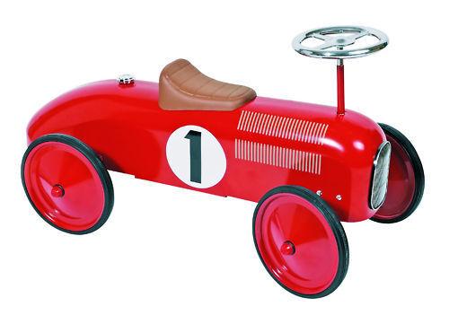 Auto giocattolo a spinta per bambini Rossa