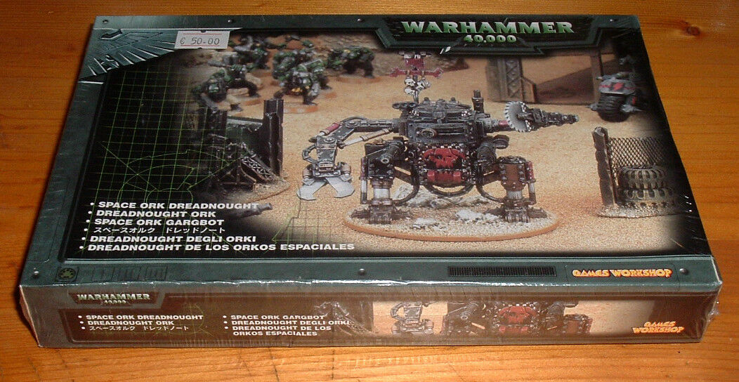 Warhammer 40,000 - Dreadnought degli orki - orko d'acciaio (MH7)