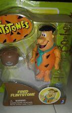 """NEW Jazwares Hanna Barbera Flintstones FRED 3"""" Figure Classic Cartoon Flinstones"""