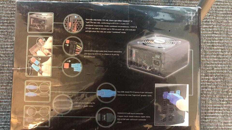 Strømforsyning, Tagan EasyCon Series Power Supply,