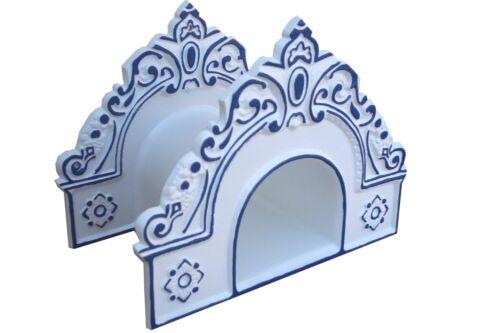Abverkauf 957602609   Schlauchhalter GRAZ weiß//blau